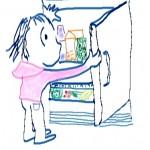 Step 1 Open refrigerator --
