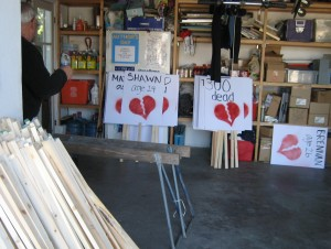small Feb. 3, 2007 BROKEN HEARTS WORK PARTY 025